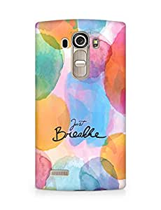 AMEZ just breathe Back Cover For LG G4