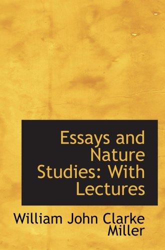 Essays and studies