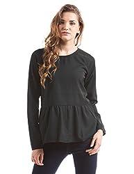 Prym Women's Body Blouse Shirt (1011517301_Black_Small)