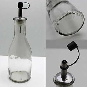 essig lflasche 250ml glas mit ausgie er essig l. Black Bedroom Furniture Sets. Home Design Ideas