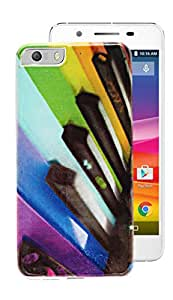ECellStreet Silicon Printed Soft Back Case Cover Back Cover For Micromax Canvas Knight 2 E471 - Paino