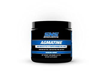 Serious Nutrition Solution Agmatine Powder, 50 Grams