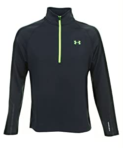 Under Armour Herren Sweatjacke EU Storm Fleece 1/2 Zip, schwarz, S (SM)