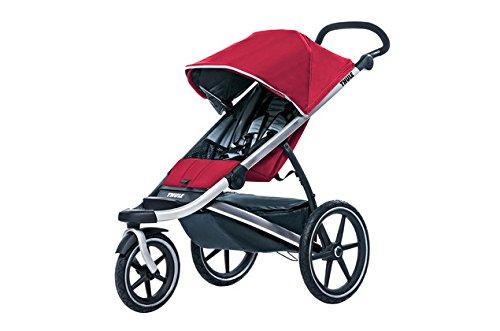 thule-urban-glide-stroller-red-black