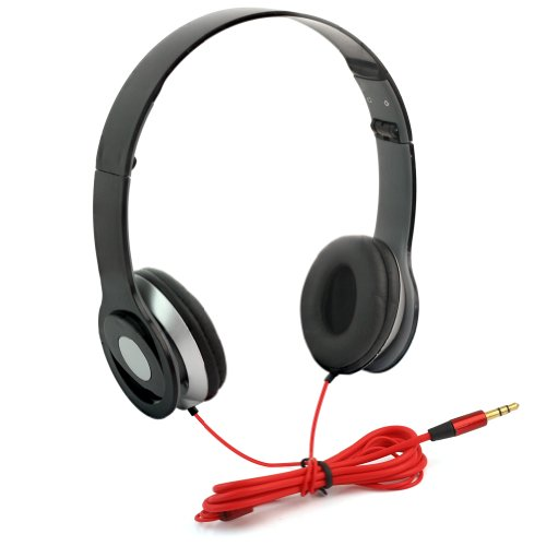 Rhx New Black Headphone Stereo Headset Earphone Foldable For Dj Psp Mp3 Mp4 Pc 3.5Mm