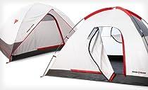 Swiss Gear Alpine Peak 2 Person Tent Wind & Waterproof New 2 Minute Easy Set-Up