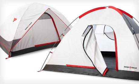 Swiss Gear Alpine Peak 2 Person Tent Wind u0026 Waterproof New 2 Minute Easy Set- & Swiss Gear Alpine Peak 2 Person Tent Wind u0026 Waterproof New 2 ...