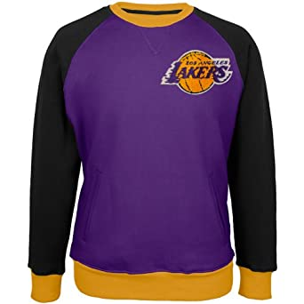 Los Angeles Lakers - Creewz Plus Size Crew Neck Sweatshir by Los Angeles Lakers