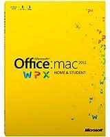 Microsoft Office for Mac Home and Student 2011 ファミリーパック [パッケージ] (PC3台/1ライセンス)