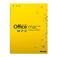 Microsoft Office for Mac(Home and Student 2011 ファミリーパック)