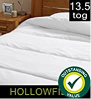 Outstanding Value Hollowfibre 13.5 Tog Duvet