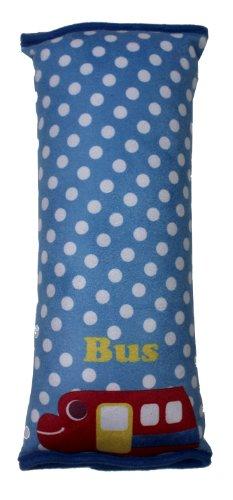 Tojoy Children Kids Car Soft Seat Belt Shoulder Pad Pillow Headrest Support Pillow, Cartoon Bus Style front-943678