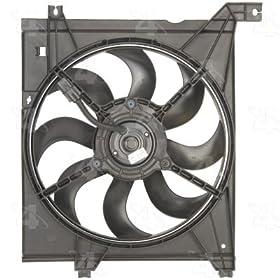Four Seasons 75634 Radiator Fan Motor Assembly