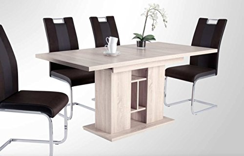 R4372-38-Isabel-Eiche-Sgerau-Nb-Esszimmertisch-Kchentisch-Speisezimmertisch-Sulentisch-Tisch-ca-120-x-80-cm-ausziehbar-auf-ca-160-cm