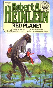 Book Cover: Red Planet by Robert A Heinlein