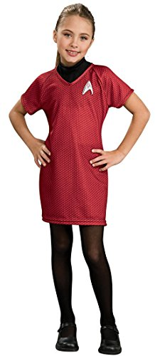 Star Trek Movie Red Dress Child Halloween Costume