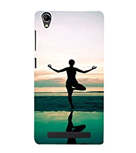 Ebby Premium Printed Mobile Back Case Cover With Full protection For Intex Aqua Power Plus (Designer Case)