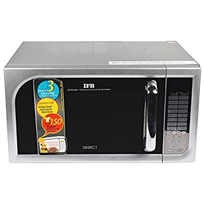 IFB 38SRC1 38-Litre Convection Microwave Oven (Metallic Silver)