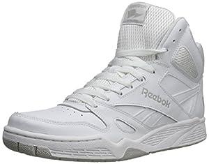 Reebok Men's Royal BB4500 Hi Basketball Shoe,White/Steel,15 M US