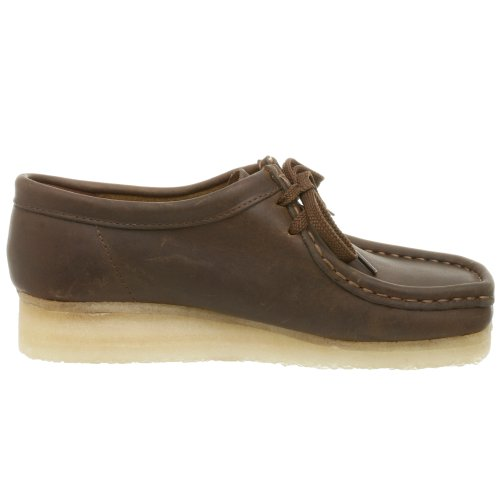 Clarks Women's Wallabee Shoe,Beeswax,8.5 M