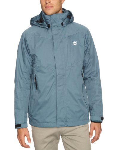 Timberland Benton 3 In 1 Men's Jacket Aegean Blue Small
