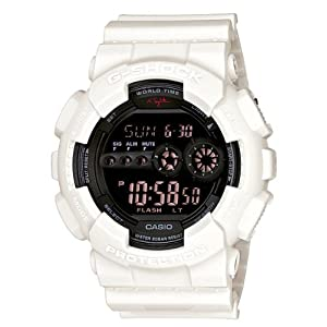 Mens G-Shock Limited Edition Nigel Sylvester Collaboration Watch White
