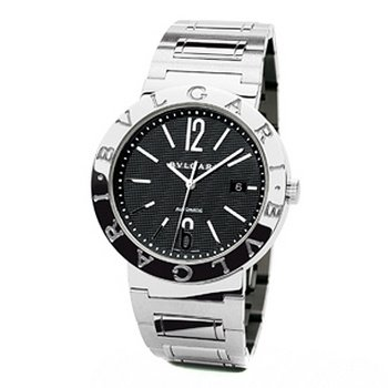 Bvlgari Bvlgari Black Dial Stainless Steel Automatic Mens Watch BB42BSSDAUTO