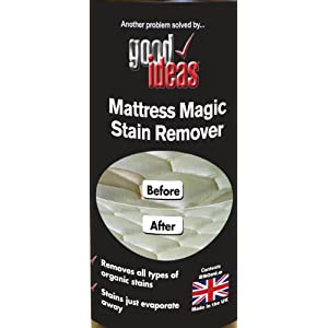 good ideas magic mattress stain remover removes dried in. Black Bedroom Furniture Sets. Home Design Ideas