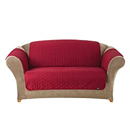 Sure Fit Furniture Friend Pet Throw - Loveseat Slipcover  - Claret (SF37509)