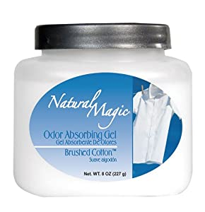Natural Magic Odor Absorbing Gel, Brushed Cotton, 8-Ounces (Pack of 12)
