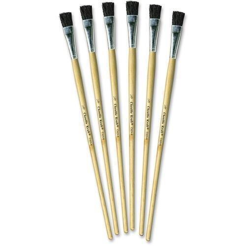 5936-chenillekraft-1-2-tempera-brush-set-6-brushes-050-handle-aluminum-ferrule-wood-handle-natural-b