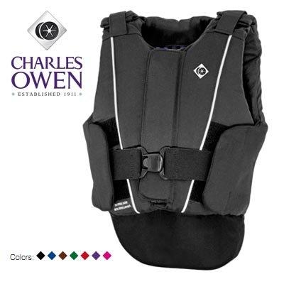 Charles Owen Kontakt 5 Protective Vest - Childs - BLACK\MEDIUM (Protective Horse Riding Vest compare prices)