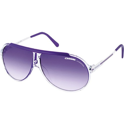 Carrera Endurance/L/S Adult Casual Sunglasses – Color: Crystal Violet/White/Violet Gradient