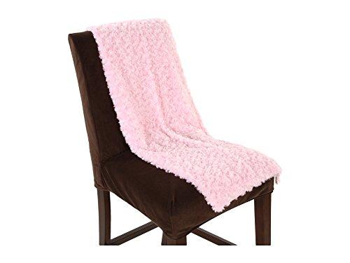 Kennebunk Home Unisex Swirl Baby Blanket Pink Blanket One Size