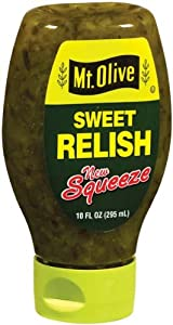 Mt. Olive Squeezable Sweet Relish, 10 Ounce (Pack of 12)