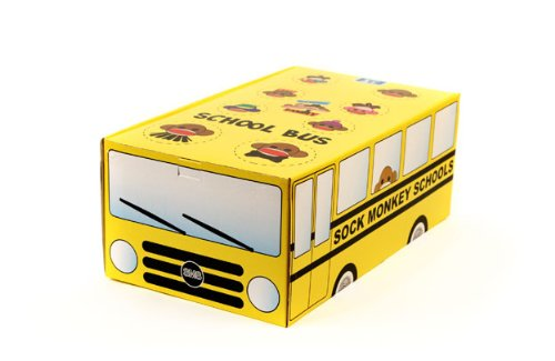 Sock Monkey Family School Bus at 'Sock Monkeys'