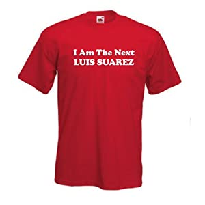 Liverpool Fc Next Luis Suarez Childs T-shirt 56 Year Old by Invicta Screen Printers