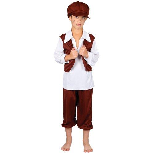Schornsteinfeger Historische Verkleidung für Jungen Fasching Halloween Kostüm M