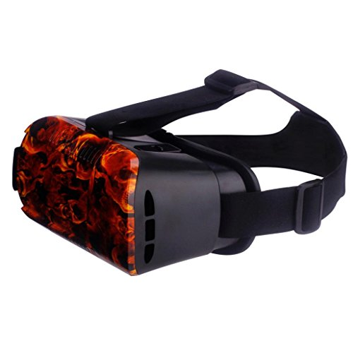 3D Glasses, Dreaman VR BOX 5 Generations Cool Virtual 3D Glasses Field Camouflage For Smartphone