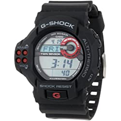 "Casio Men's GDF100-1A ""G-Shock"" Sport Watch with Black Resin Band"