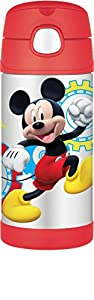 Thermos 12 Ounce Funtainer Bottle, Mickey Mouse Clubhouse