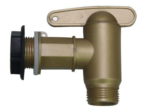 504044 Auslaufhahn Kunststoff 13 mm (1/2 Zoll), 16 mm (5/8 Zoll), 19 mm (3/4 Zoll)