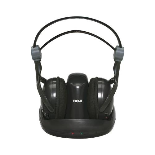 Rca Whp141B 900 Mhz Wireless Stereo Headphones