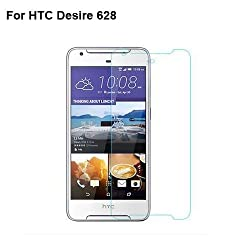 Ascari High Quality Amazing 9H 2.5D Slim Tempered Glass Screen Protector Film / Mobile Cell Phone Proof Membrane For HTC Desire 628