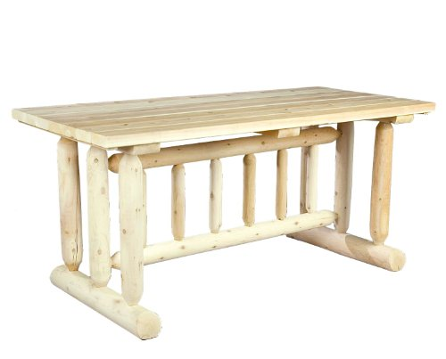 Log Harvest Family Dining Table Furniture Tables Kitchen Room Tables
