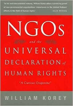 Human rights and ngo