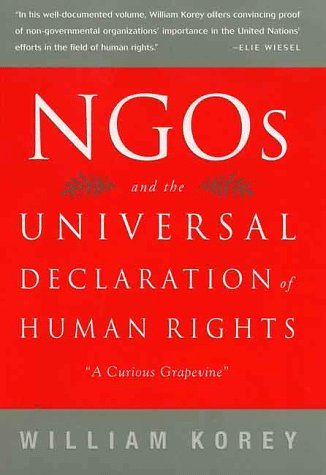 Ngos and the Universal Declaration of Human Rights: