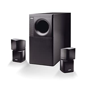 bose acoustimass 5 stereo lautsprecher system bis 200. Black Bedroom Furniture Sets. Home Design Ideas