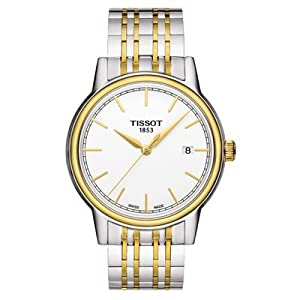 Tissot Men's T0854102201100 Carson Analog Display Swiss Quartz Two Tone Watch