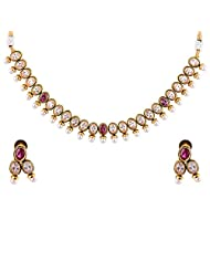 Bhagwathi Antique Necklace Set (BGPS0017) - B00V3E9REW